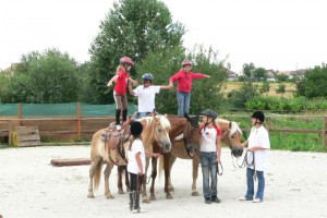 tabor westernový jazdecký tábor