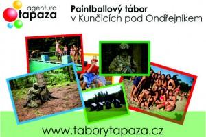 tabor Paintballový tábor v Beskydech