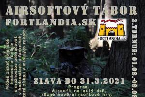 tabor Fortlandia - Airsoftový tábor