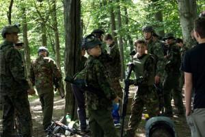 tabor Airsoftový tábor v Moravském Berouně