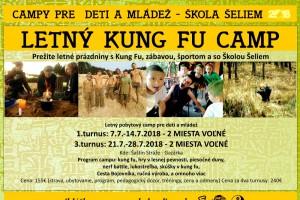 tabor Letný kung fu tábor