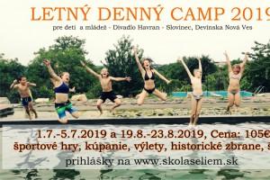 tabor Letný denný športový tábor