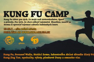 tabor Letný Kung Fu camp pre deti a mládež