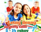 tabor Letný denný jazykový tábor 2018