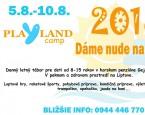 tabor Denný tábor - PlaYland 2018