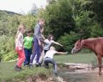 tabor kon��ky,koniny a zakl�na�i Monty Ran�