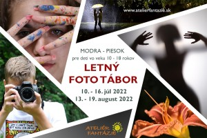 tabor Fotografický Tábor Modra - Piesok
