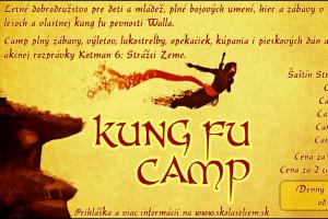 tabor Športový kung fu camp 2021