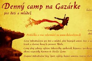 tabor Denný športový camp na Gazárke