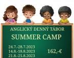 tabor Anglický denný tábor SUMMER CAMP 6-14r.